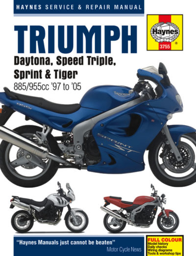 triumph fuel injected triples 97 05 haynes triumph fuel injected triples 97 05