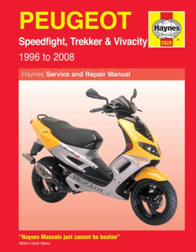 peugeot speedfight trekker vivacity scooters 96 08 haynes rh verkstadshandbok se