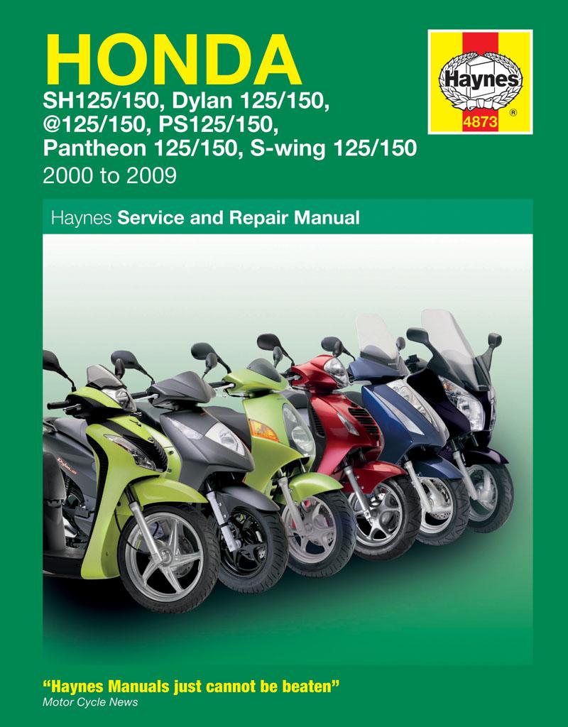 Honda 125 scooters (sh, ses, nes, pes & fes 125) (
