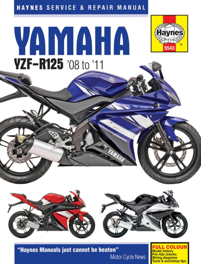 Yamaha Yzf R125 08 11 Haynes Verkstadhanbokhaynes Verkstadhanbok Wiring Diagram
