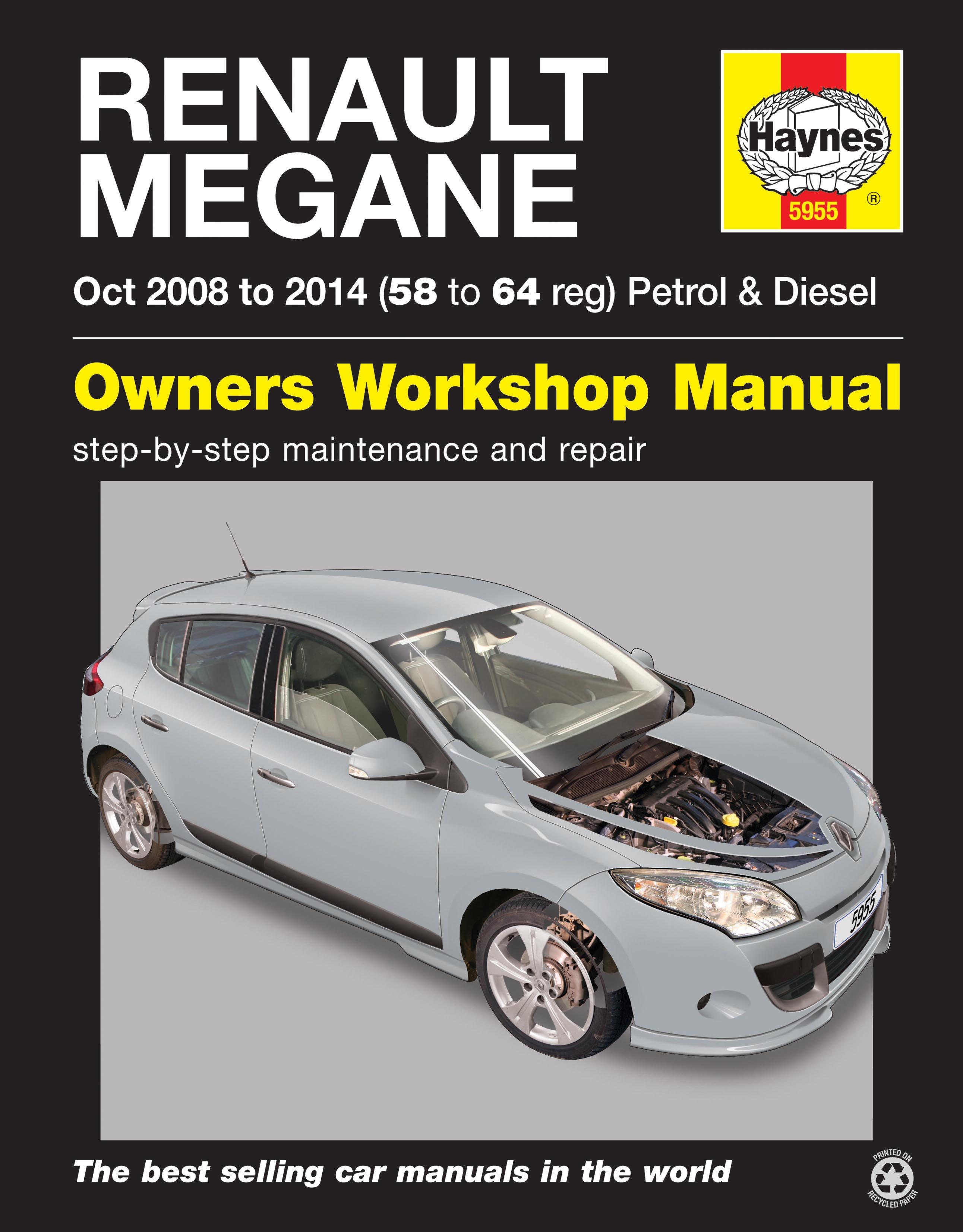 Renault Megane  Oct  U0026 39 08- U0026 39 14