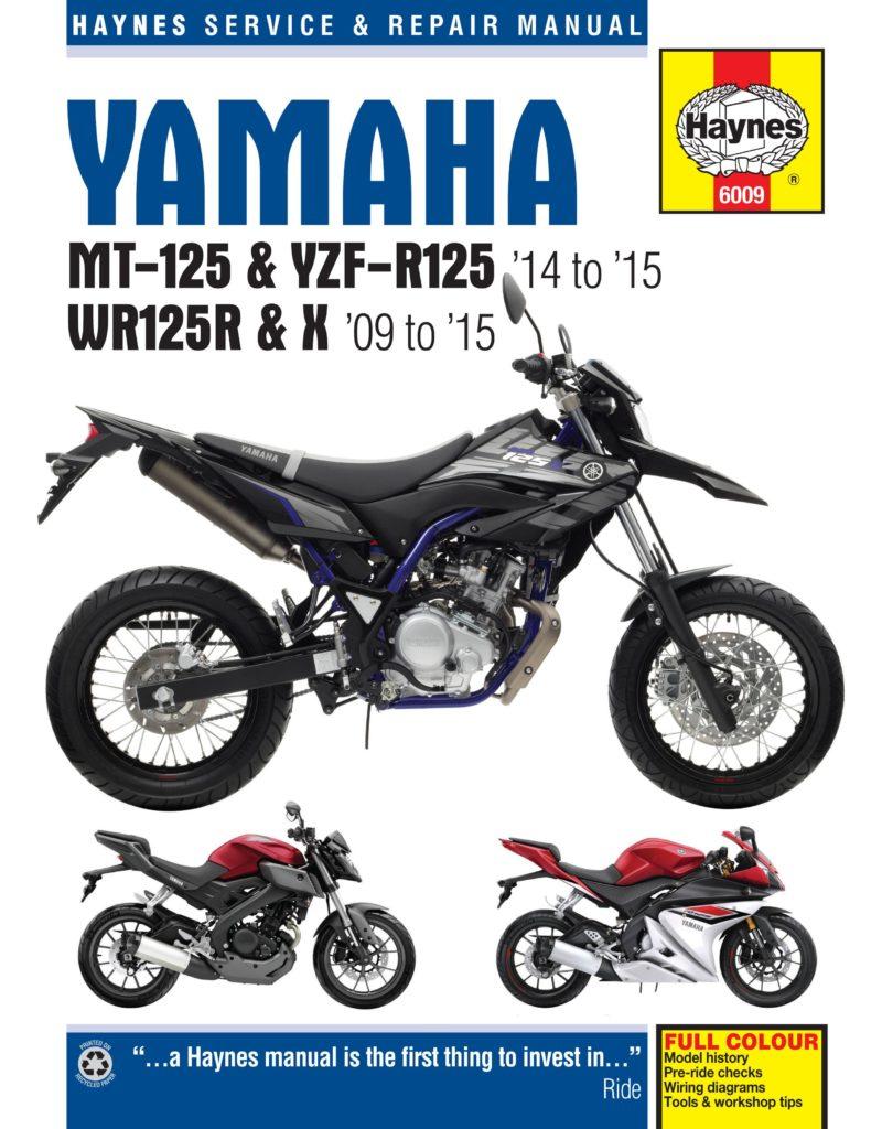 yamaha mt yzf r125 14 15 wr125 09 15 haynes. Black Bedroom Furniture Sets. Home Design Ideas