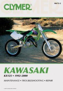 85 84 87 86 Clymer Repair Service Shop Manual Vintage Kawasaki KDX200 83 88